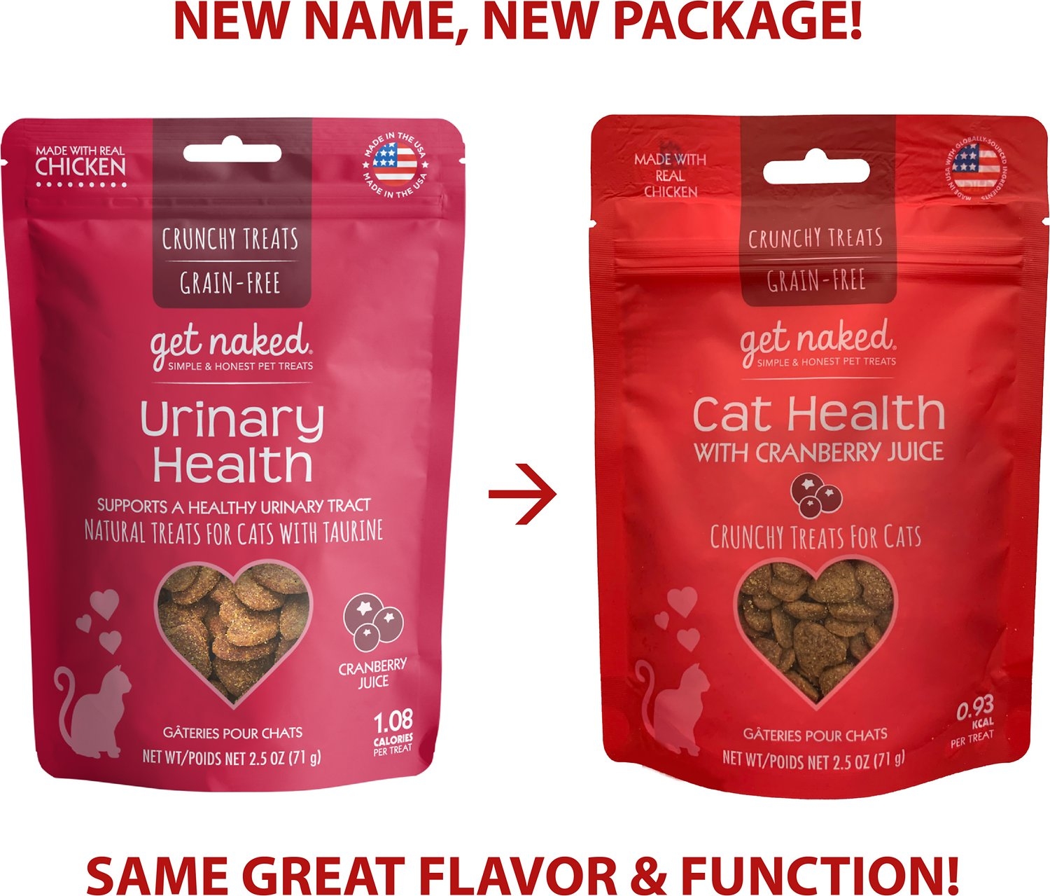 Get Naked Grain Free Furball Relief Soft Treats for Cats