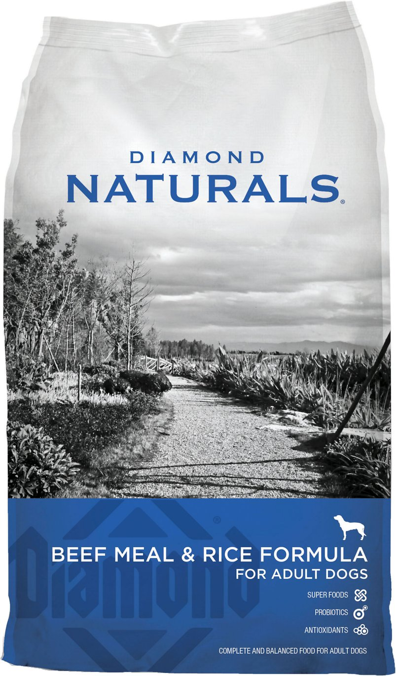 Diamond Naturals Dry Dog Food Beef And Rice