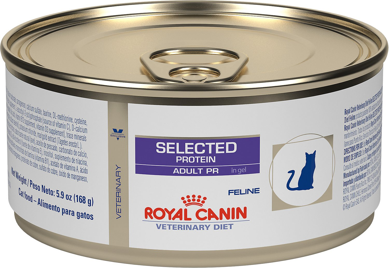 royal canin veterinary diet selected protein adult pr canned cat food 5 9 oz case of 24. Black Bedroom Furniture Sets. Home Design Ideas