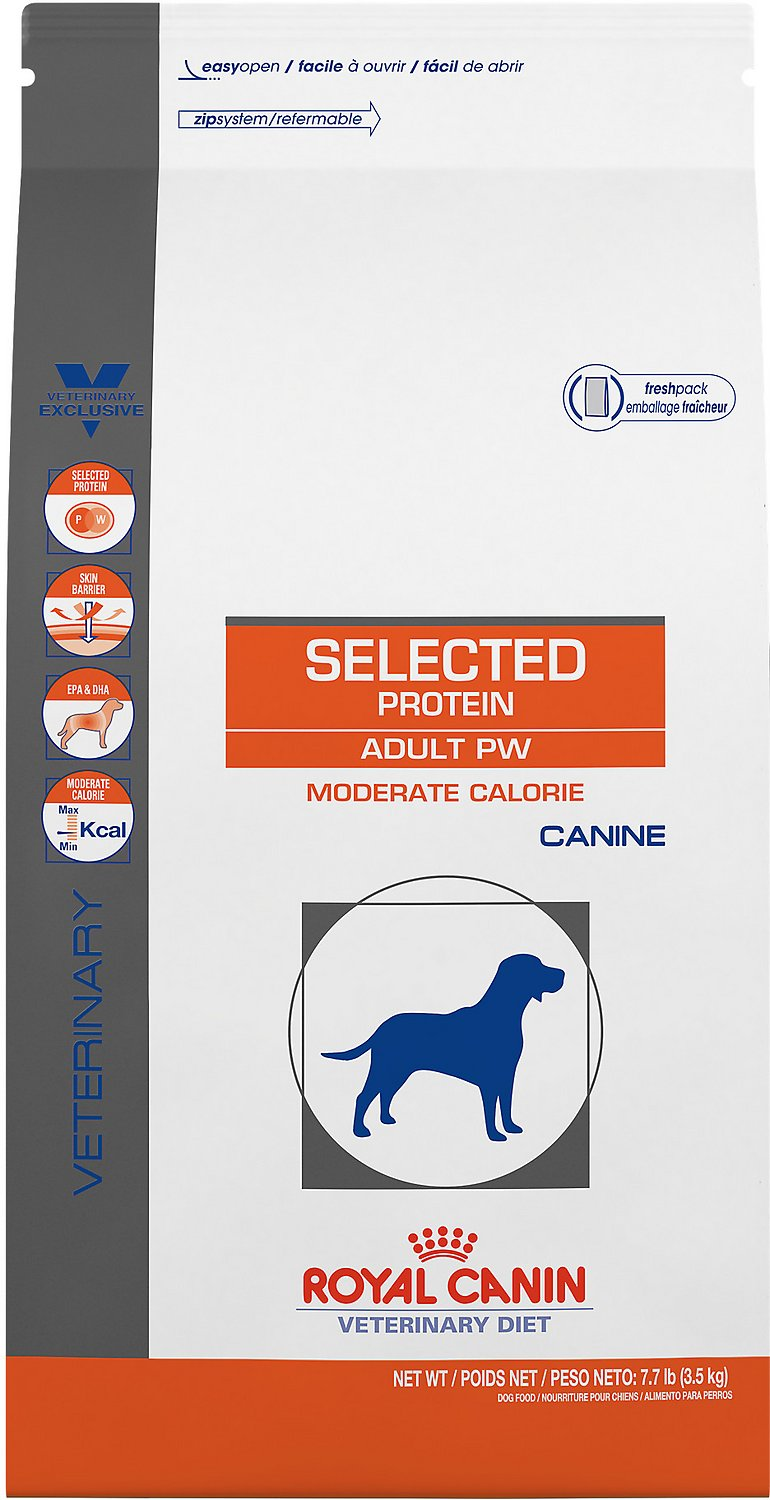30 Lb Dog: Royal Canin Veterinary Diet Selected Protein Adult PW