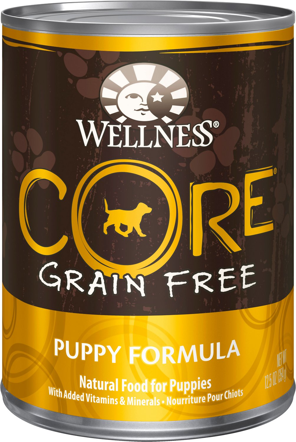 Wellness Core Grain Free Puppy Formula Canned Dog Food 12