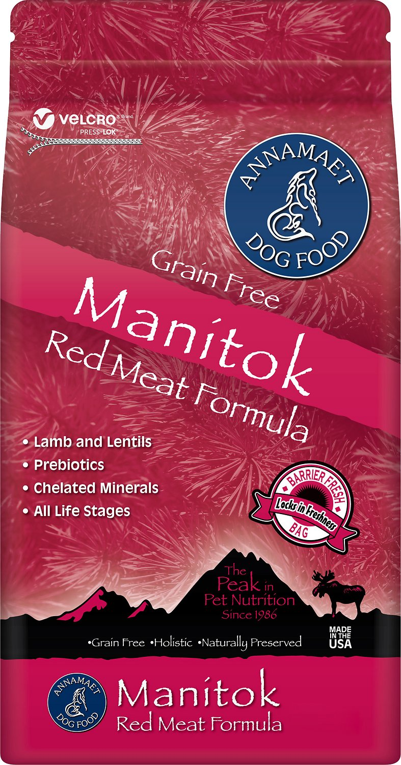 Annamaet Grain Free Manitok Red Meat Formula Dry Dog Food