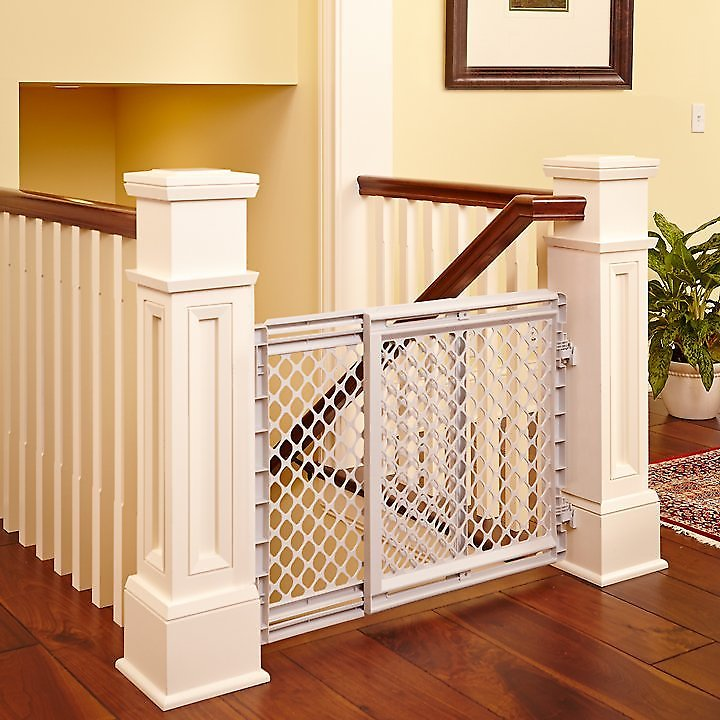 North States Plastic Walk Thru Pet Gate For Dogs Amp Cats