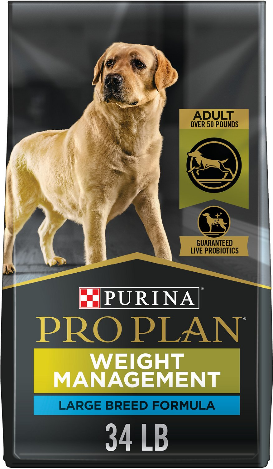 Purina Pro Plan Cat Food >> Purina Pro Plan Focus Adult Large Breed Weight Management ...