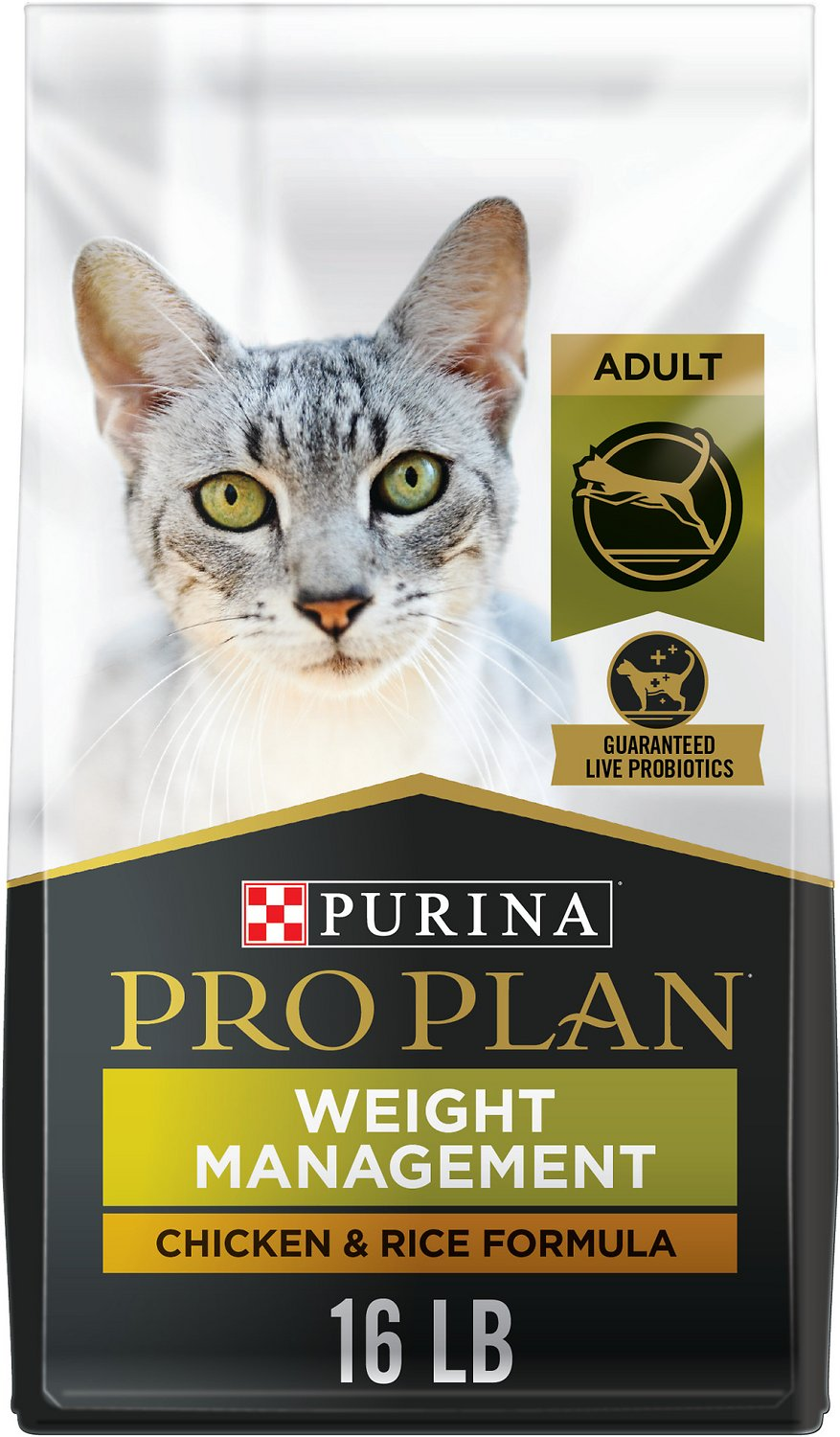 Purina Pro Plan Focus Weight Management En Rice Formula Dry Cat Food 16 Lb Bag Chewy Com
