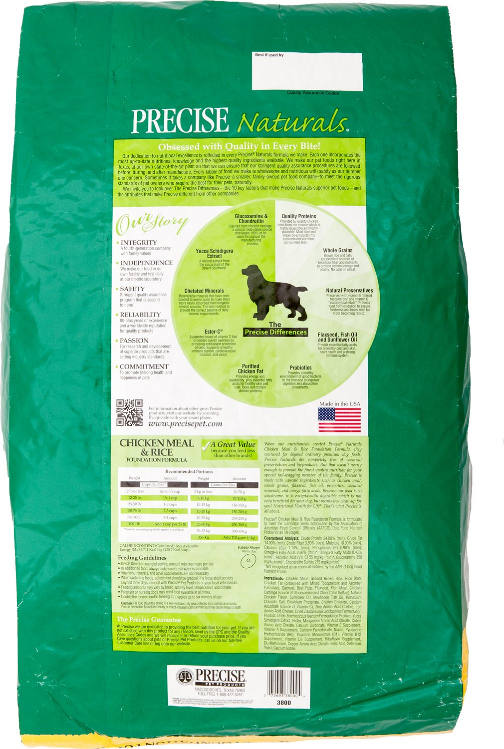 Precise Foundation Dog Food  Lb