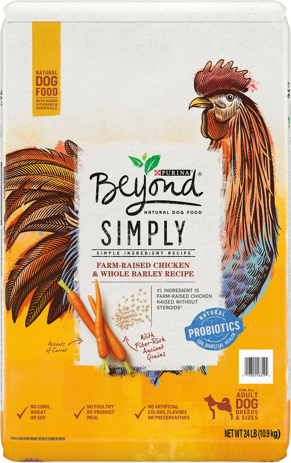 Purina Beyond Cat Food >> Purina Beyond Simply 9 White Meat Chicken & Whole Barley ...