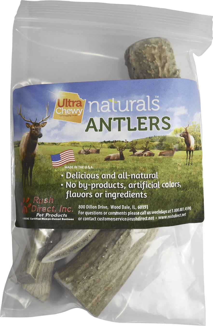 ultra chewy naturals antlers dog chews 15 oz bag. Black Bedroom Furniture Sets. Home Design Ideas