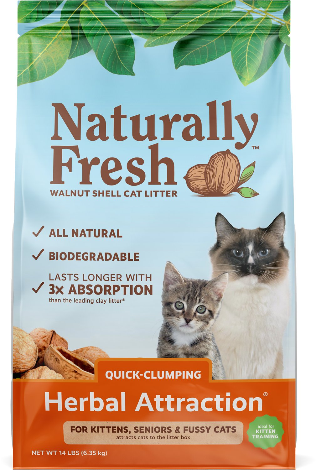 Naturally Fresh Walnut Based Herbal Attraction Quick