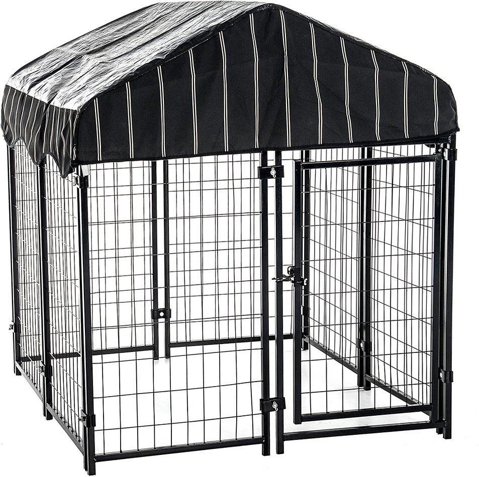 Lucky Dog Pet Resort Dog Kennel & Cover