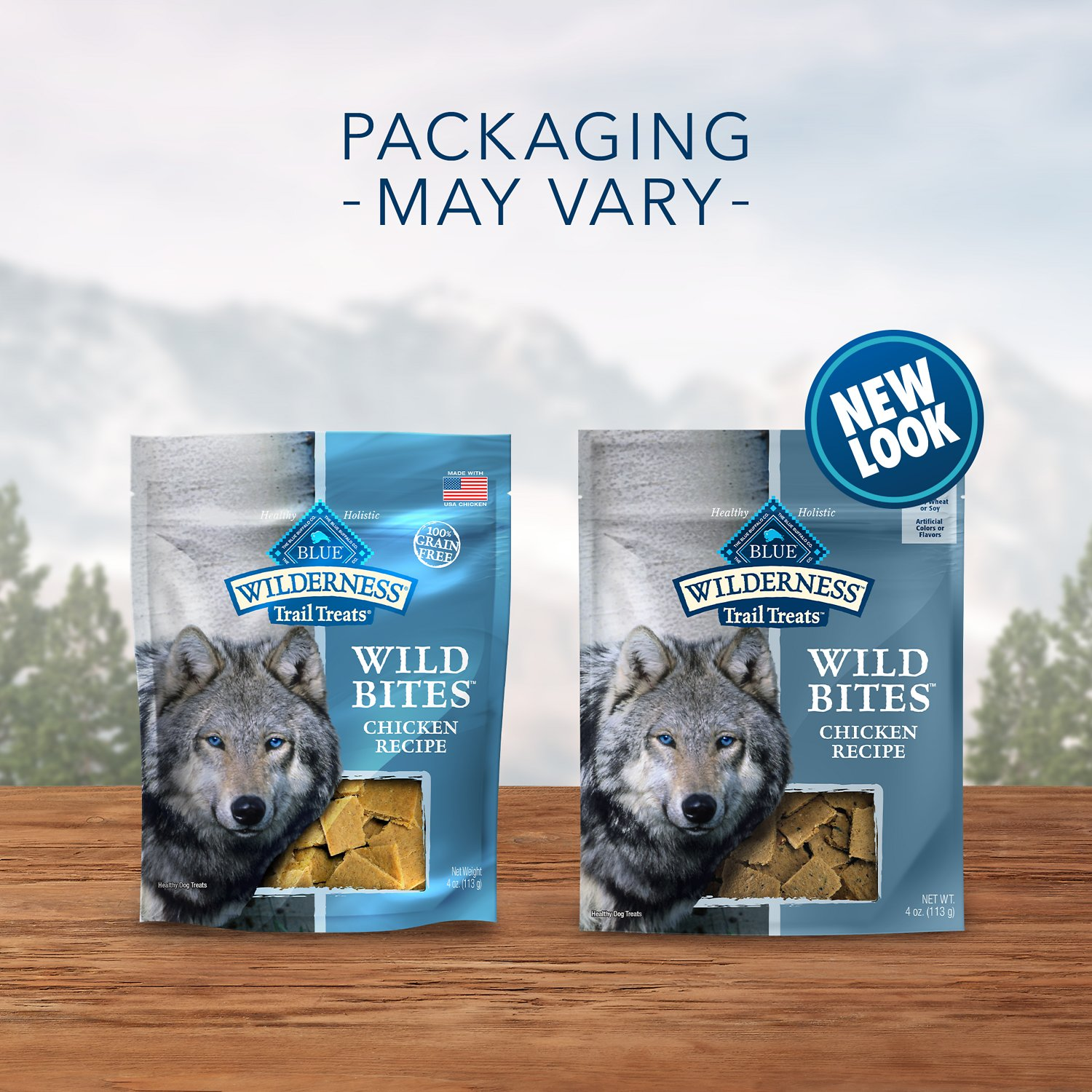 Blue Buffalo Wilderness Trail Treats Grain Free Wild Bites Dog Treats