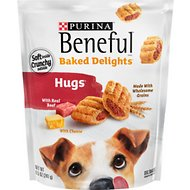 Purina Beneful Baked Delights Hugs with Real Beef & Cheese Dog Treats, 8.5-oz bag