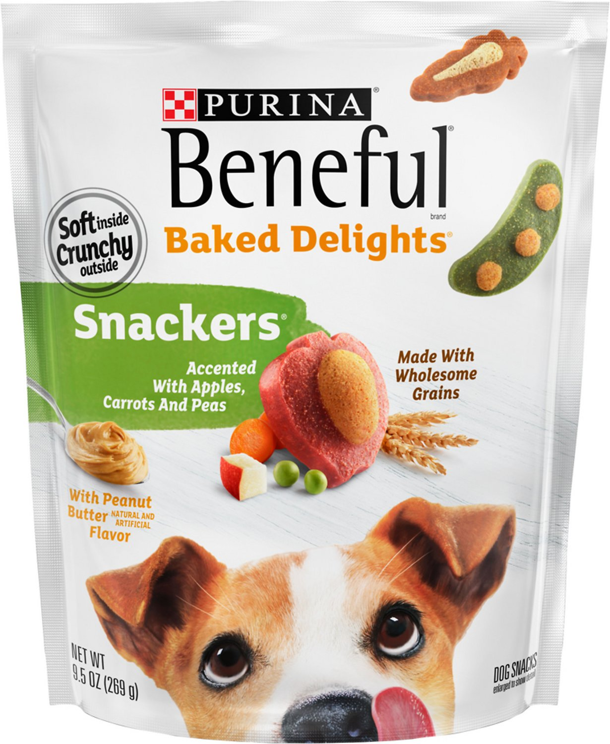 Purina beneful baked delights snackers with apples carrots peas video publicscrutiny Image collections