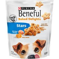 Purina Beneful Baked Delights Stars with Real Chicken & Cheese Dog Treats, 8.5-oz bag