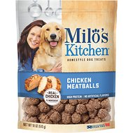 Milo's Kitchen Chicken Meatballs Dog Treats, 18-oz bag