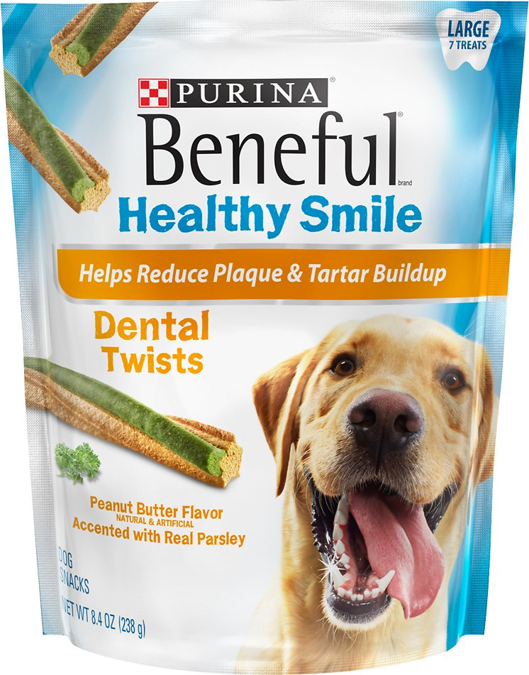 Purina beneful healthy smile dental twists dog treats 7 count video publicscrutiny Image collections