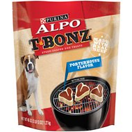 ALPO T-Bonz Porterhouse Flavor Dog Treats, 45-oz bag