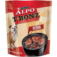 ALPO T-Bonz Ribeye Flavor Dog Treats, 45-oz bag