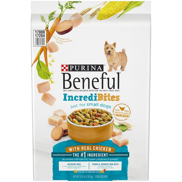 Purina beneful incredibites for small dogs with real for Purina tropical fish food