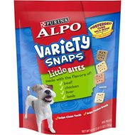 ALPO Variety Snaps Little Bites Dog Treats, 60-oz bag