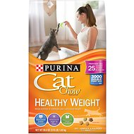 Cat Chow Healthy Weight Dry Cat Food, 3.15-lb bag