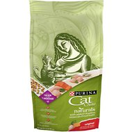Cat Chow Naturals Original with Real Chicken & Salmon Dry Cat Food, 6.3-lb bag