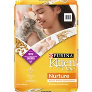 Kitten Chow Nurture Dry Cat Food, 14-lb bag