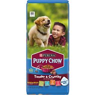 Puppy Chow Tender & Crunchy with Real Beef Dry Dog Food, 32-lb bag