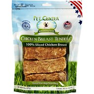 Pet Center Sliced Chicken Breast Tenders Dog Treats, 8-oz bag