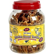 Pet Center Sliced Chicken Breast Tenders Dog Treats, 2-lb jar
