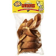Pet Center Hickory Smoked Cowbone Beef Hooves Dog Treats, 10 count