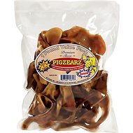 Pet Center Pigzears Slivers Dog Chew Treats, 1-lb bag