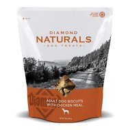 Diamond Naturals Adult Biscuits with Chicken Meal Dog Treats, 16-oz bag
