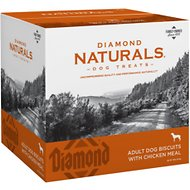 Diamond Naturals Adult Biscuits with Chicken Meal Dog Treats, 19-lb box
