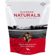 Diamond Naturals Adult Biscuits with Lamb Meal Dog Treats, 16-oz bag