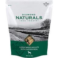 Diamond Naturals Large Breed Adult Biscuits with Chicken Meal Dog Treats, 24-oz bag
