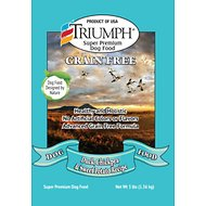 Triumph Grain-Free Duck, Chickpea & Sweet Potato Recipe Dry Dog Food, 3-lb bag