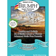 Triumph Grain-Free Duck, Chickpea & Sweet Potato Recipe Dry Dog Food, 26-lb bag