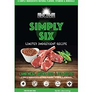 Evolve Simply Six Limited Ingredient Lamb Meal, Brown Rice & Pea Recipe Dry Dog Food, 12-lb bag