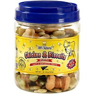 Pet Center Chicken & Biscuits Recipe Mini Dog Treats, 1-lb jar