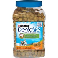 DentaLife Tasty Chicken Flavor Dental Cat Treats, 13.5-oz canister