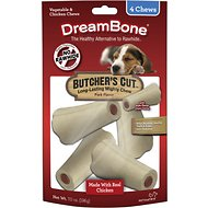 DreamBone Small Butcher's Cut Chicken Chews Dog Treats, 4 count
