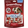 DreamBone Small Rattle Ball Chicken Chews Dog Treats