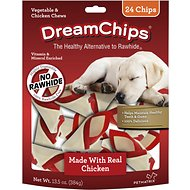DreamBone DreamChips Chicken Chews Dog Treats, 24 count