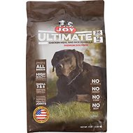 Joy Ultimate Chicken Meal and Rice Formula Dry Dog Food, 5-lb bag