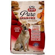 Joy Pure Grain-Free Chicken and Potatoes Dry Dog Food, 5-lb bag