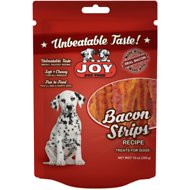 Joy Bacon Strips Recipe Dog Treats, 10-oz bag