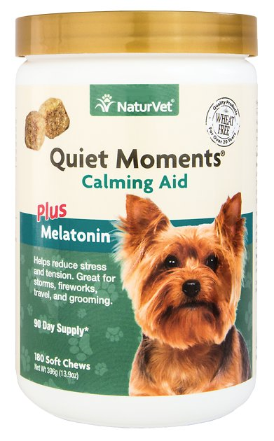 NaturVet Quiet Moments Calming Aid Dog Soft Chews c2ac15db3