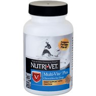 Nutri-Vet Multi-Vite Plus Chewable Dog Supplement, 60-count