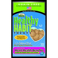 Precise Holistic Complete Grain-Free Healthy Habit with Salmon Meal Heart Health Dog Treats, 8-oz bag